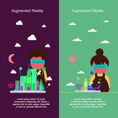 Fényképek Bővített valóság koncepcióterv
