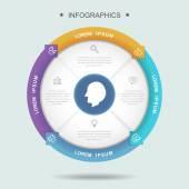 Kreativní infographic šablona