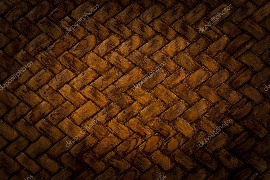 patrón de tejido de canasta marrón — Foto de stock © swat2522 #79103252