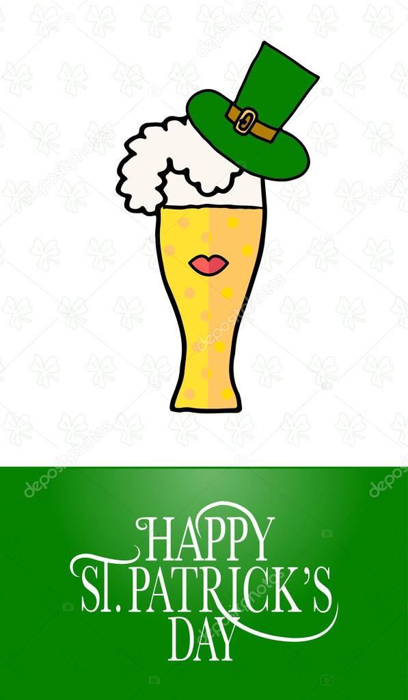 St Patrick\'s Day party invitation — Stock Vector © Svetana_Kurako ...