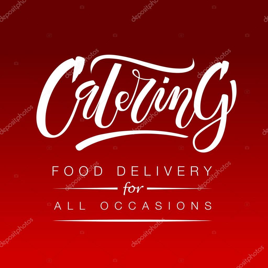 template of catering company logo stock vector svetana kurako