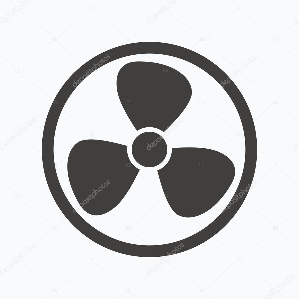 Exhaust Fan Symbol : Lüftung symbol luft ventilator oder lüfter zeichen
