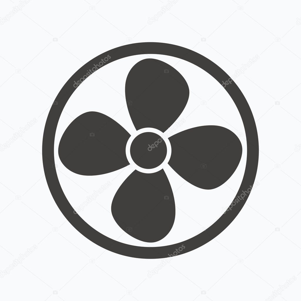 l ftung symbol luft ventilator oder l fter zeichen stockvektor tanyastock 119011974. Black Bedroom Furniture Sets. Home Design Ideas