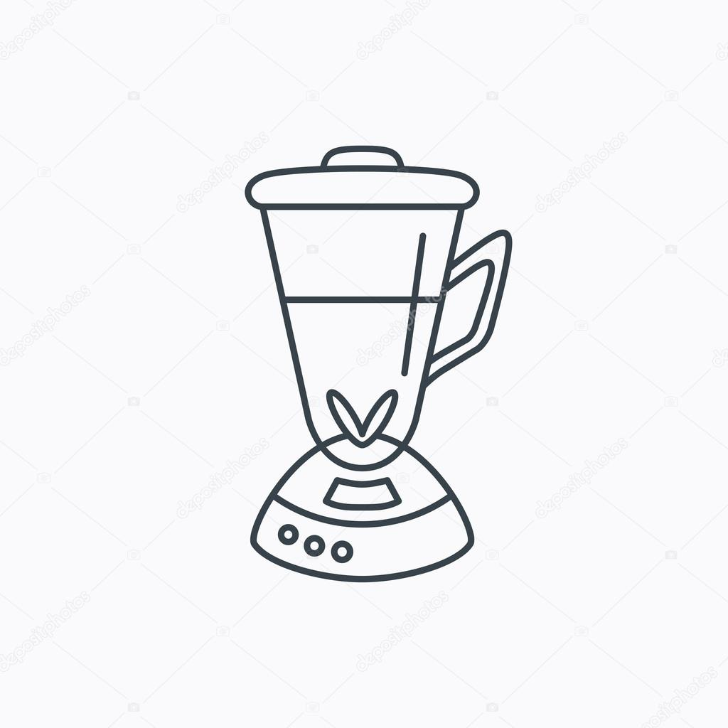 Mixer icon  Blender sign  — Stock Vector © Tanyastock #81678256
