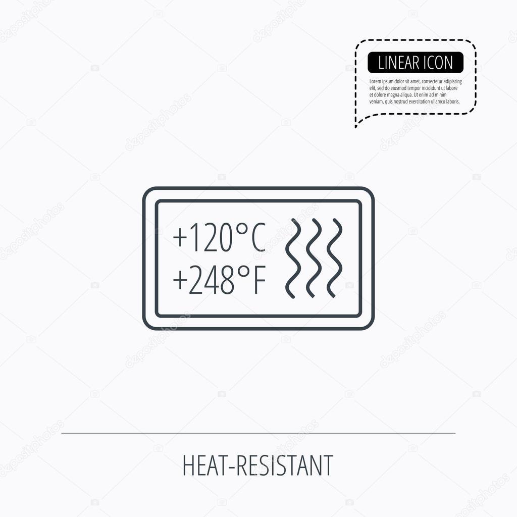 Top Hitzebeständig-Symbol. Mikrowelle, Spülmaschine-info WP88