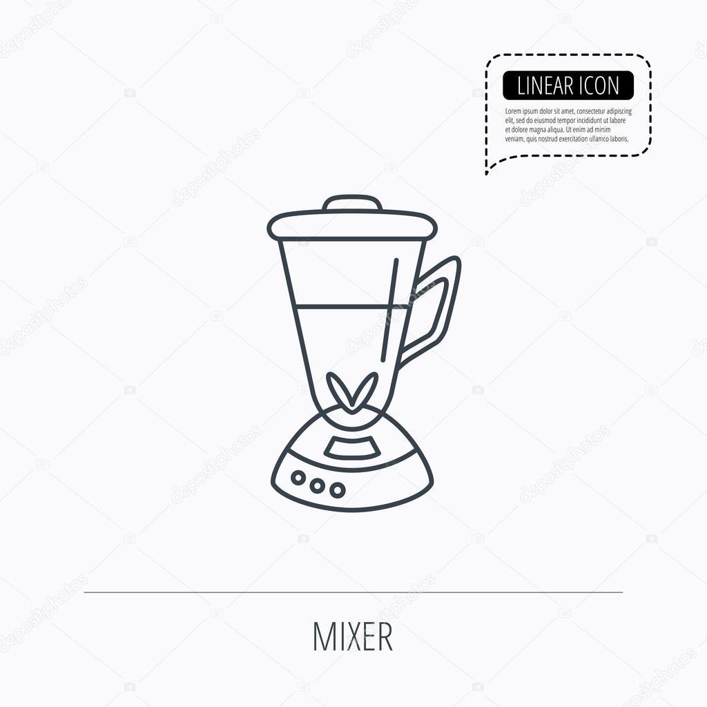Mixer icon  Blender sign  — Stock Vector © Tanyastock #85021012