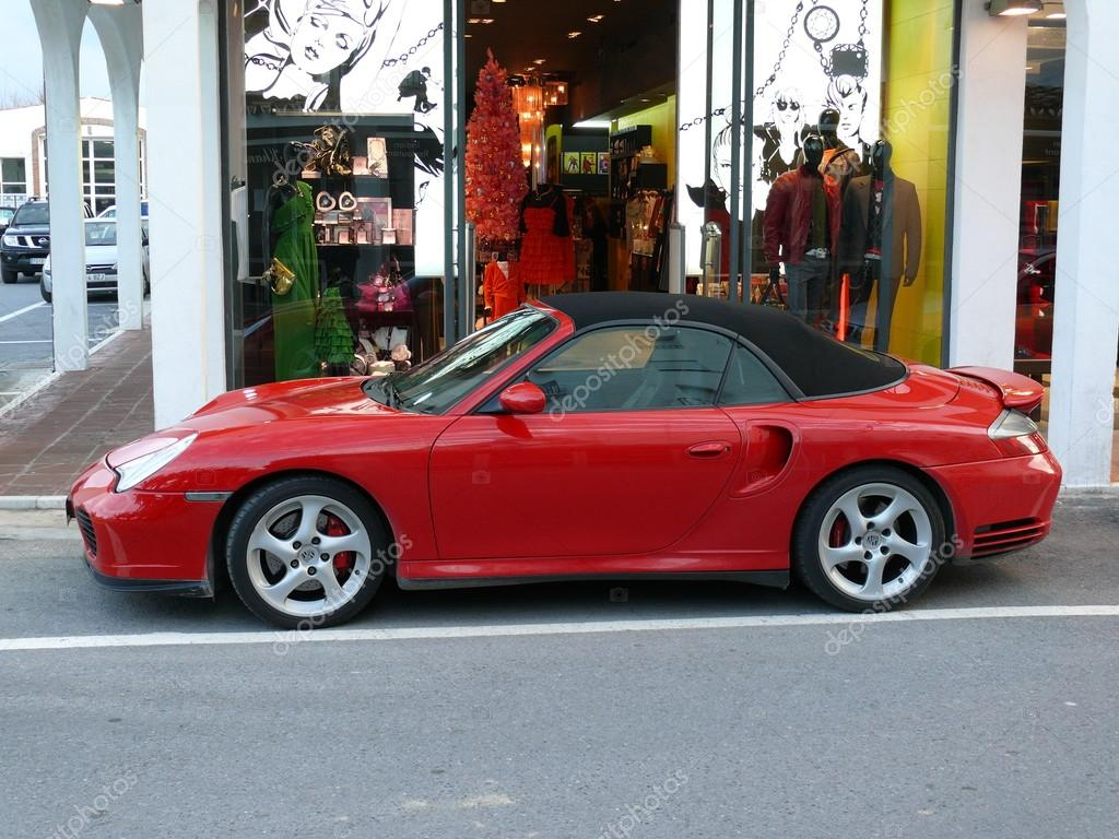 Red Convertible Porsche 911 Turbo Stock Editorial Photo C Kuki Goy 92585096