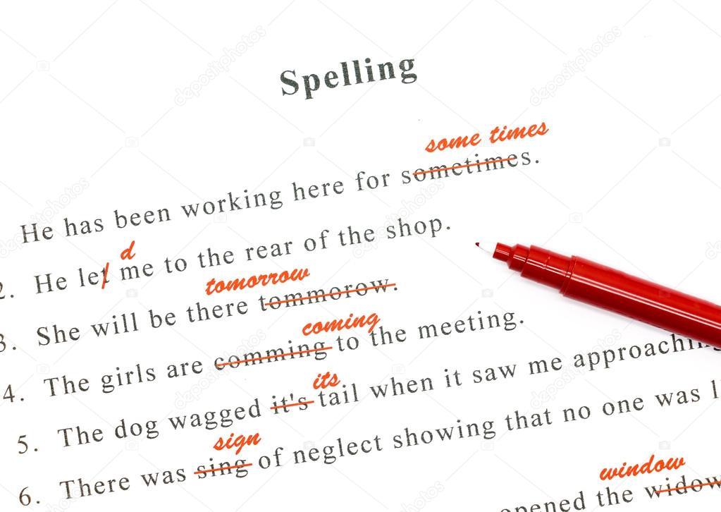engelse spelling