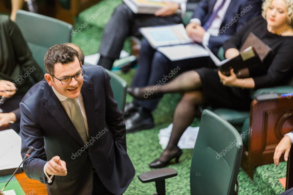 Victorian State Parliament - Question Time – Stock Editorial