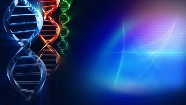 Animation of DNA strand