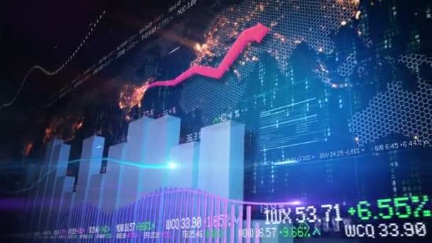 Stock market animáció