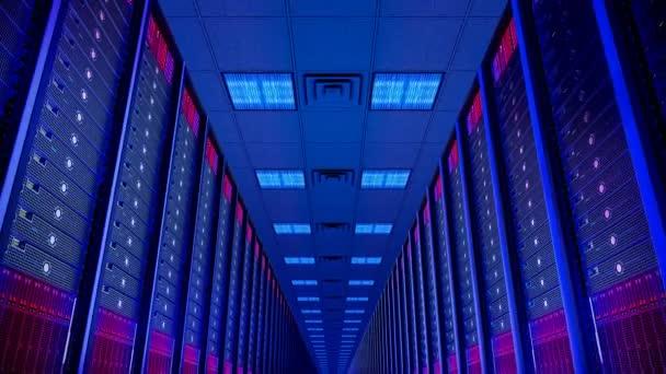 Animovaná ukázka Rozvaděčové servery v datových centrech