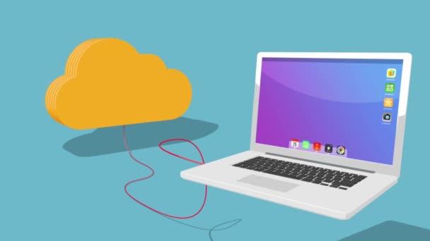 mrak připojení k různým zařízením