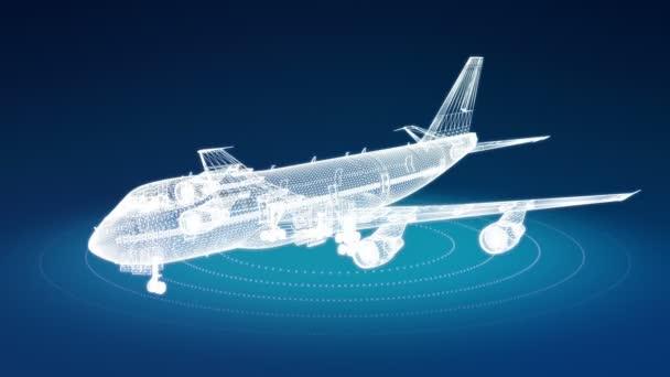 osobní letadlo drátěný rotační