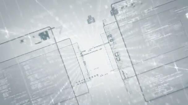 Secure cloud computing concept