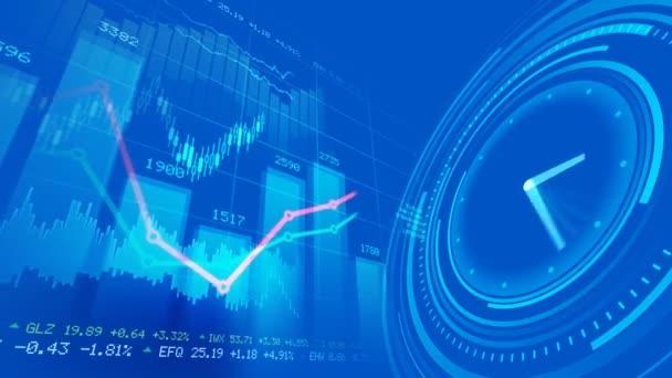 akciový trh koncept