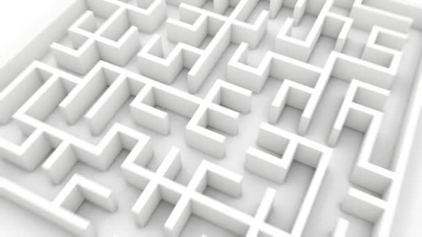 arrow finds a way through labyrinth
