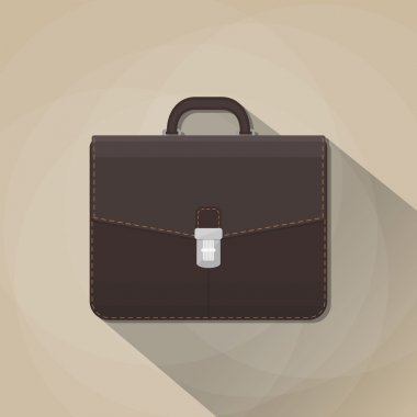 brown leather business