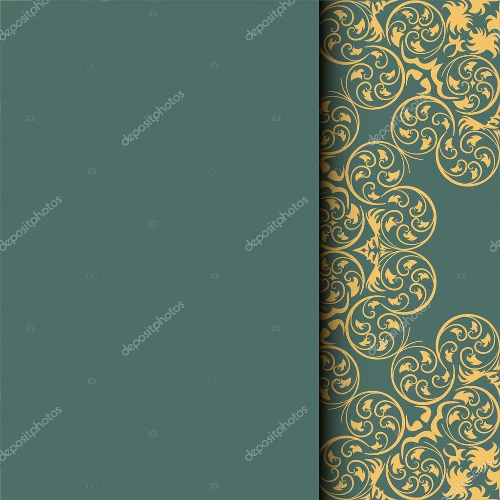 Ethnic pattern  Abstract greeting card, background with