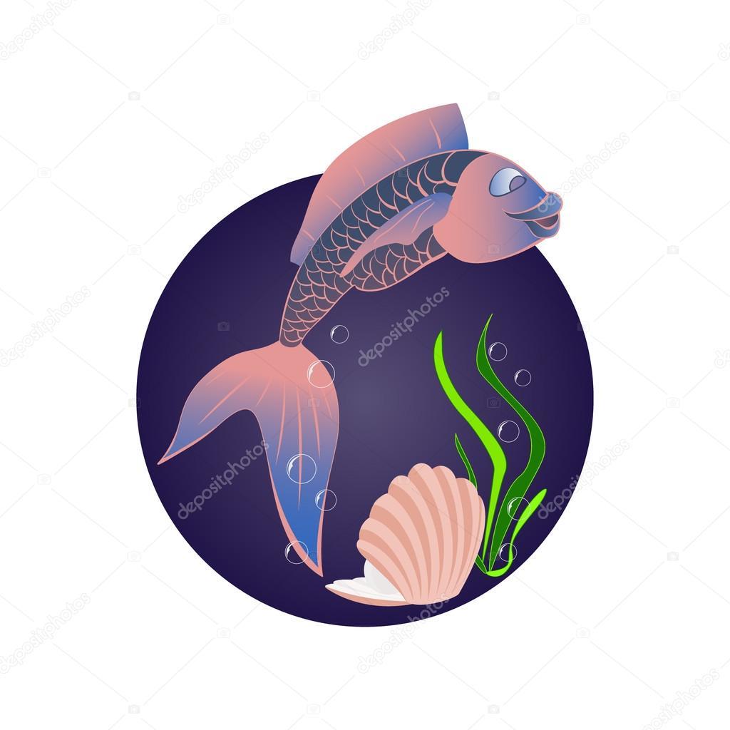 Funny sea fish