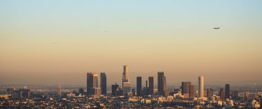 Downtown Los Angeles Skyline in the Evening