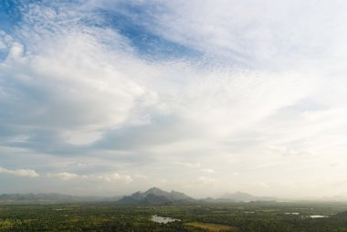 A view from Sigiriya