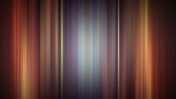 Vertical gradient blue yellow orange lines shifting in loop. 4k beautiful abstract background with seamless looping animation for business presentations or technology hi-tech motion background.