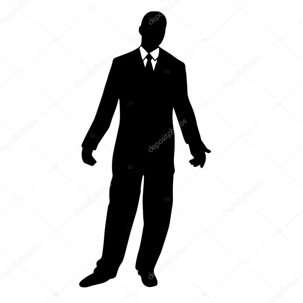 スーツの男の高品質オリジナル イラスト ストックベクター Stellal
