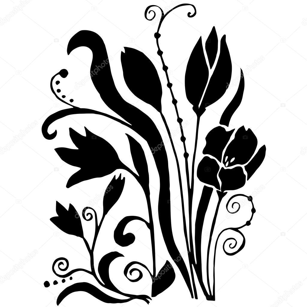 Bouquet Originale Di Qualità Di Hiqh Di Fiori Da Colorare O Altre