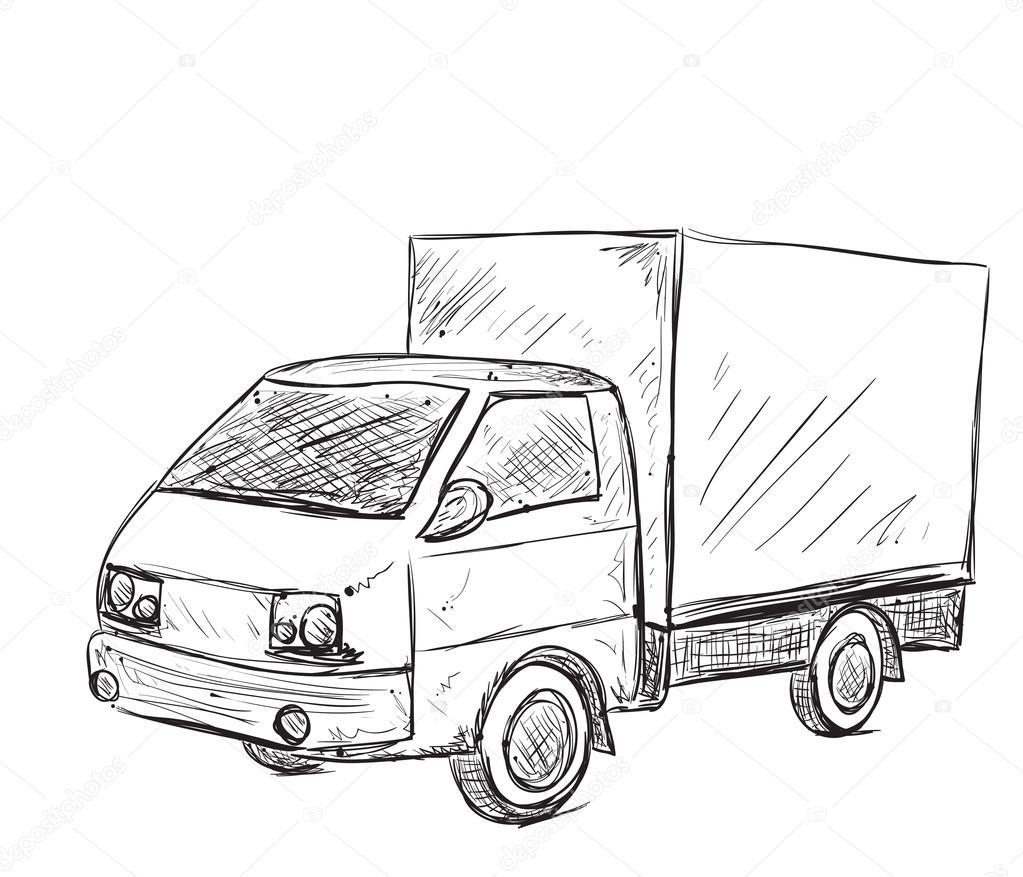 Resultado de imagem para desenho de caminhão