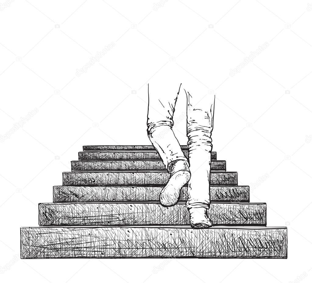 Семейный сонник лестница во сне — символ дороги, успеха в делах, продвижения наверх, почестей и достижения цели.