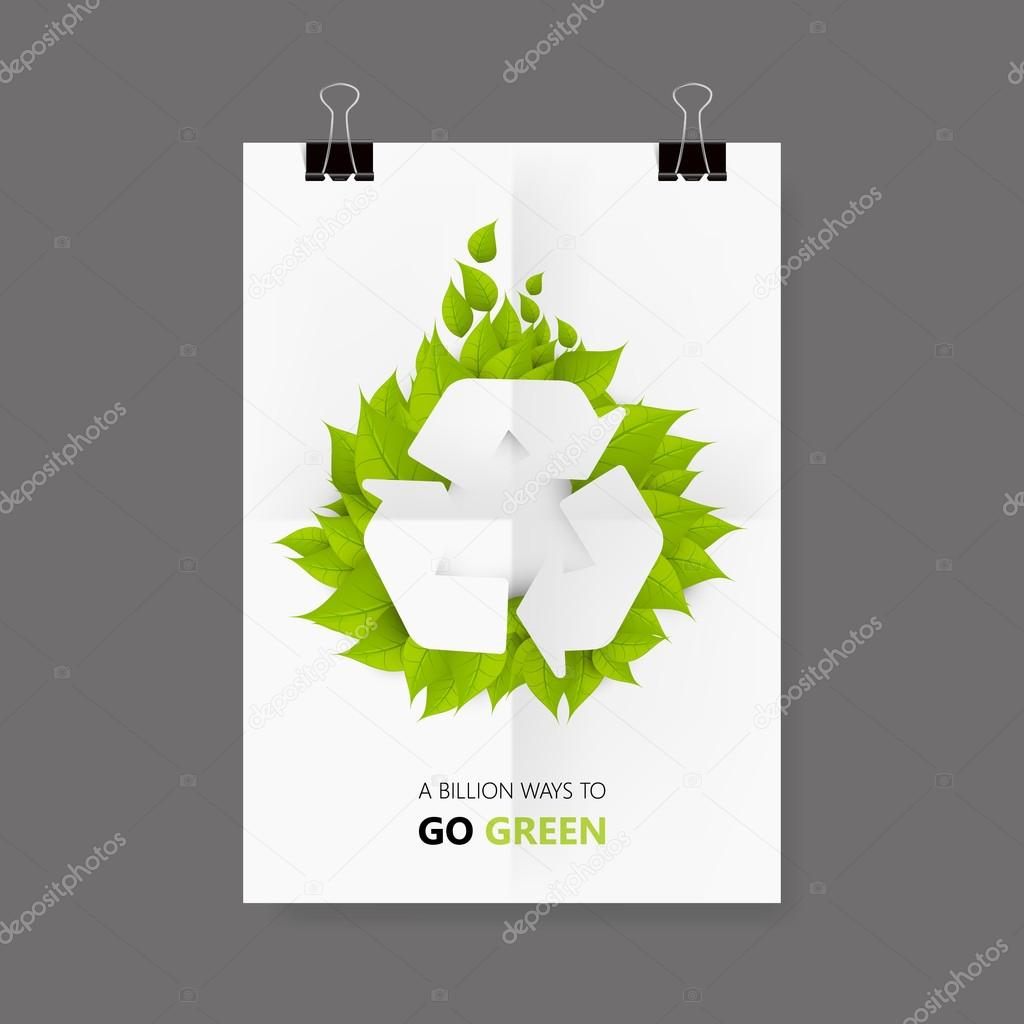 Green Eco Flyer