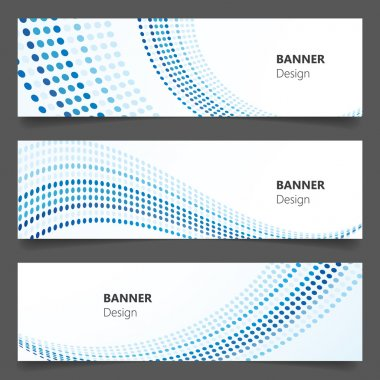 Abstract technology, business banner background, Vector Eps 10