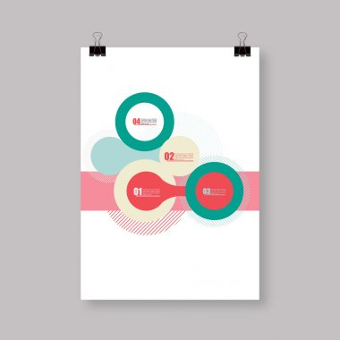 Flyer or Cover Abstract A4 / A3 poster template design
