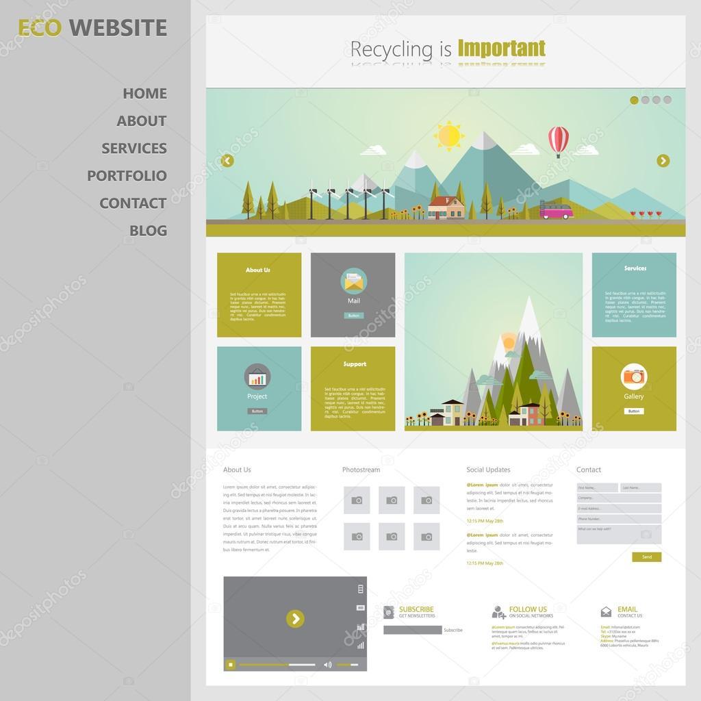 Niedlich Blog Entwurfsvorlage Zeitgenössisch - Beispiel Business ...