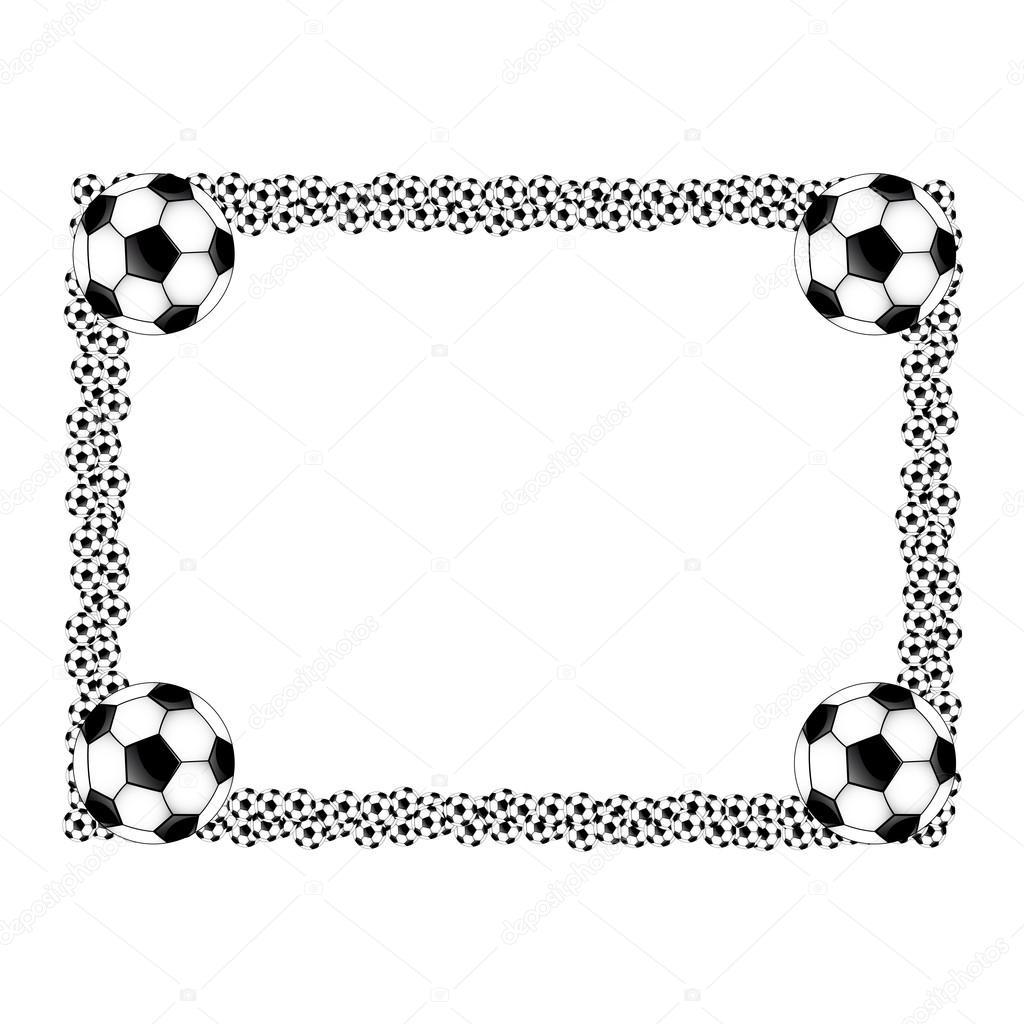 Soccer frame — Stock Vector © Studioarte2015 #83604460
