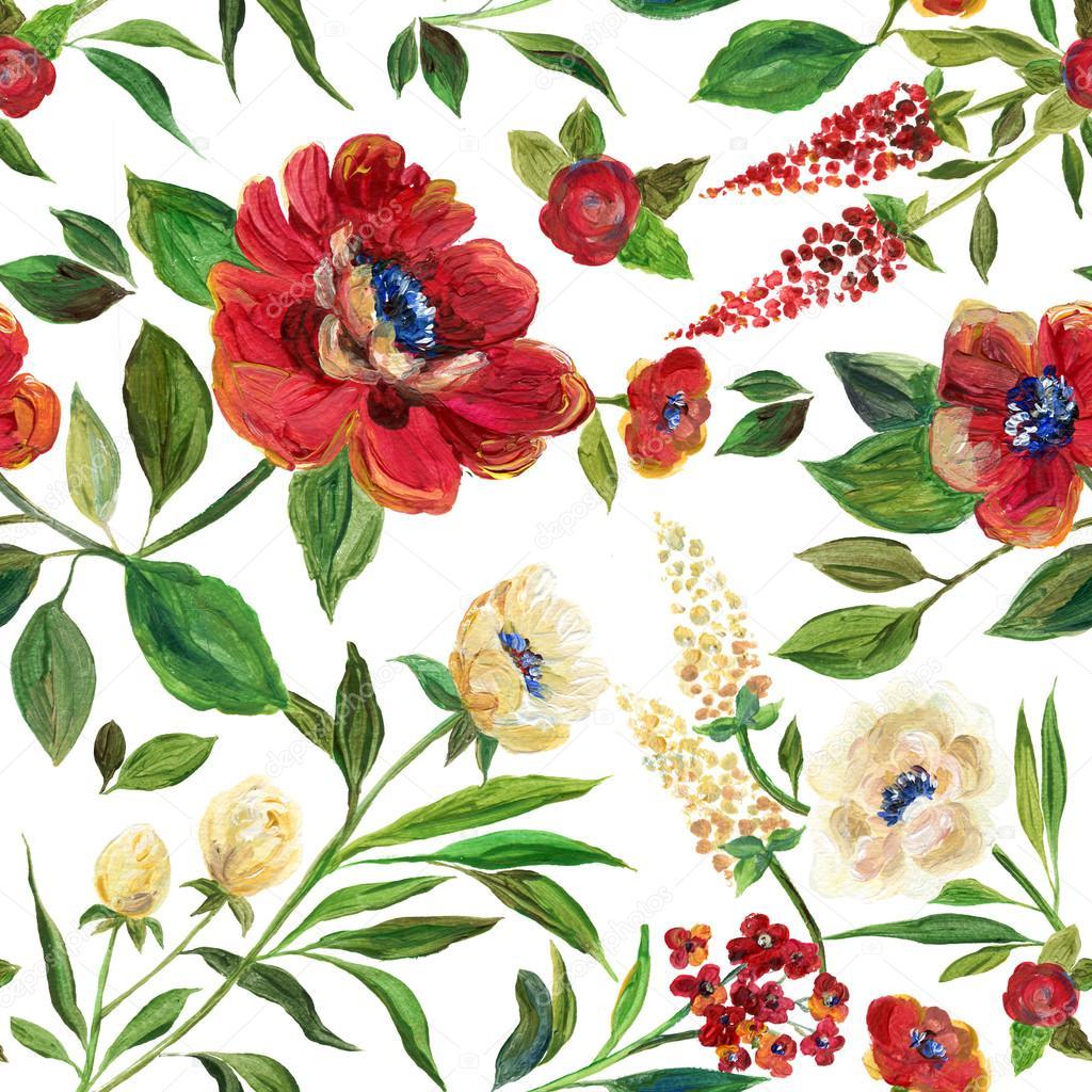 Illustratie Voor Textiel Wallpapers Bruiloft Verjaardag En