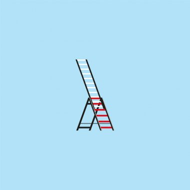 Ladder. Vector icon.