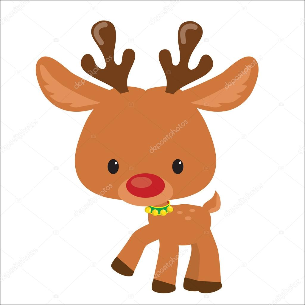 Dibujos Animados De Renos Navideños Renos De Navidad