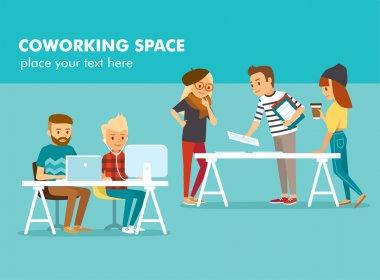 creative people working