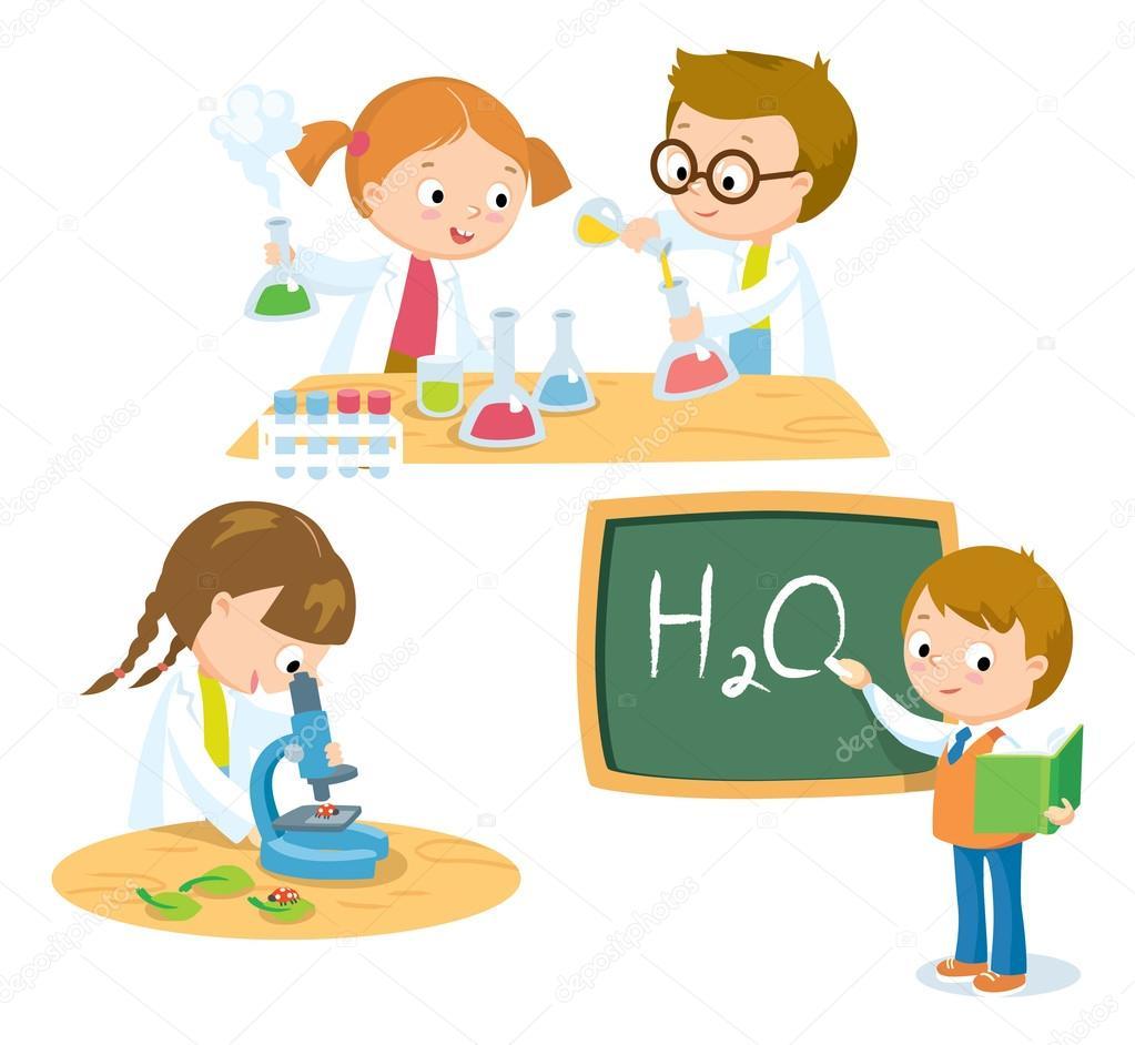 子供イラストのための科学 ストックベクター Olga1818 110341066
