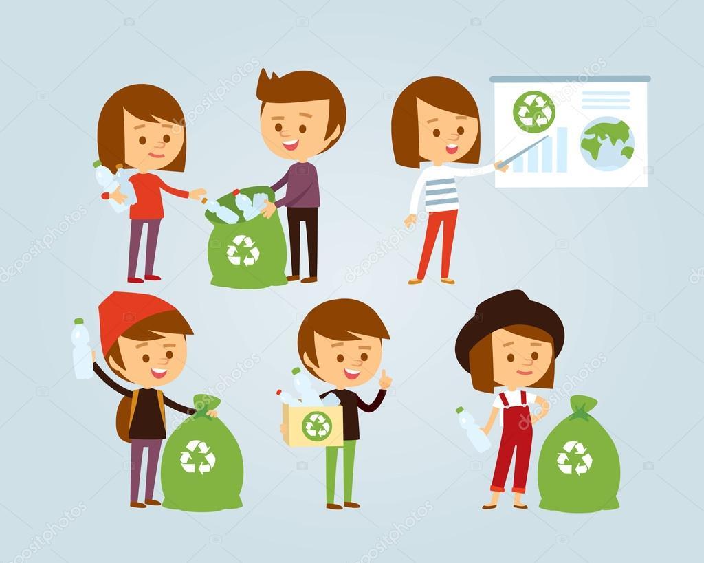 Plastik Atık Toplama Insanlar