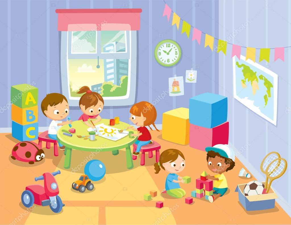 Niños En El Jardin Animados: Yogly Bolsos Mochila De