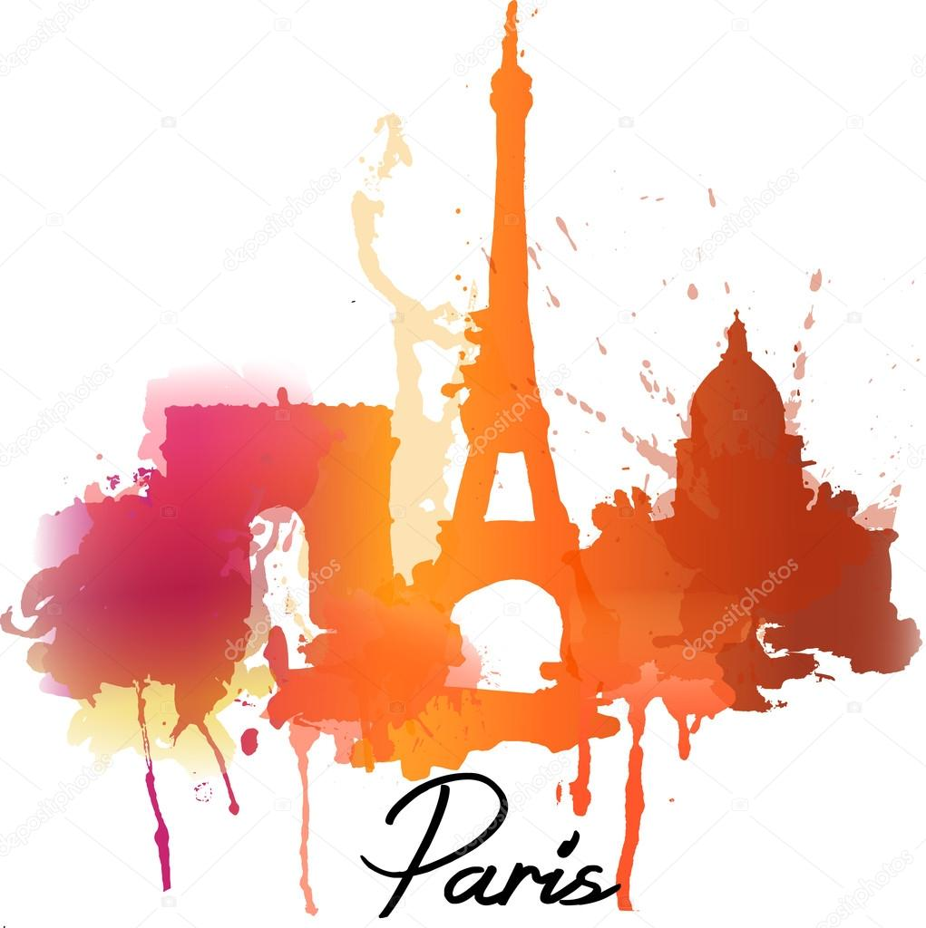 Paris. Vector illustration