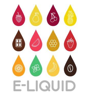 Icons of  E-Liquid