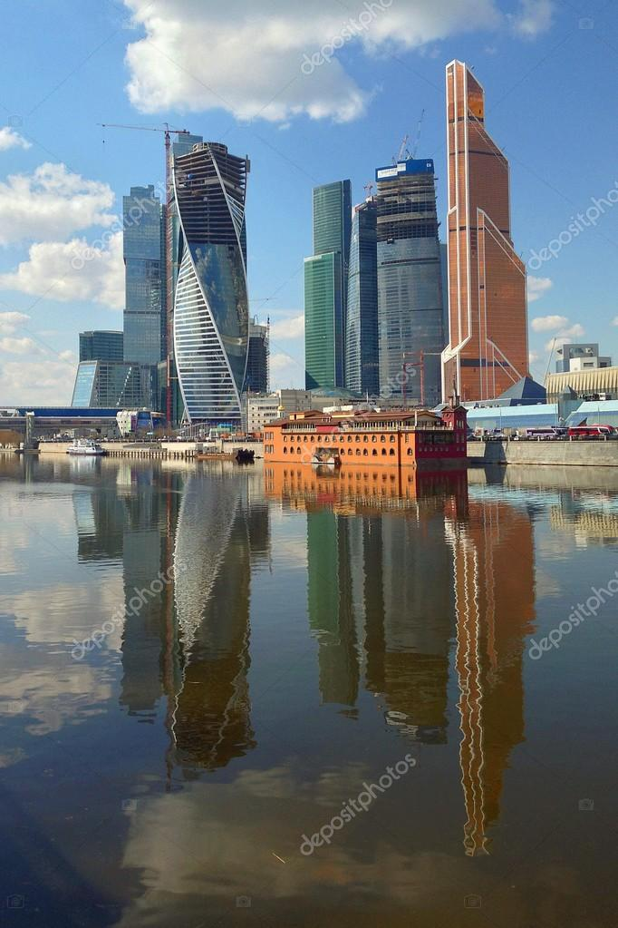 Skyscrapers of Moscow City