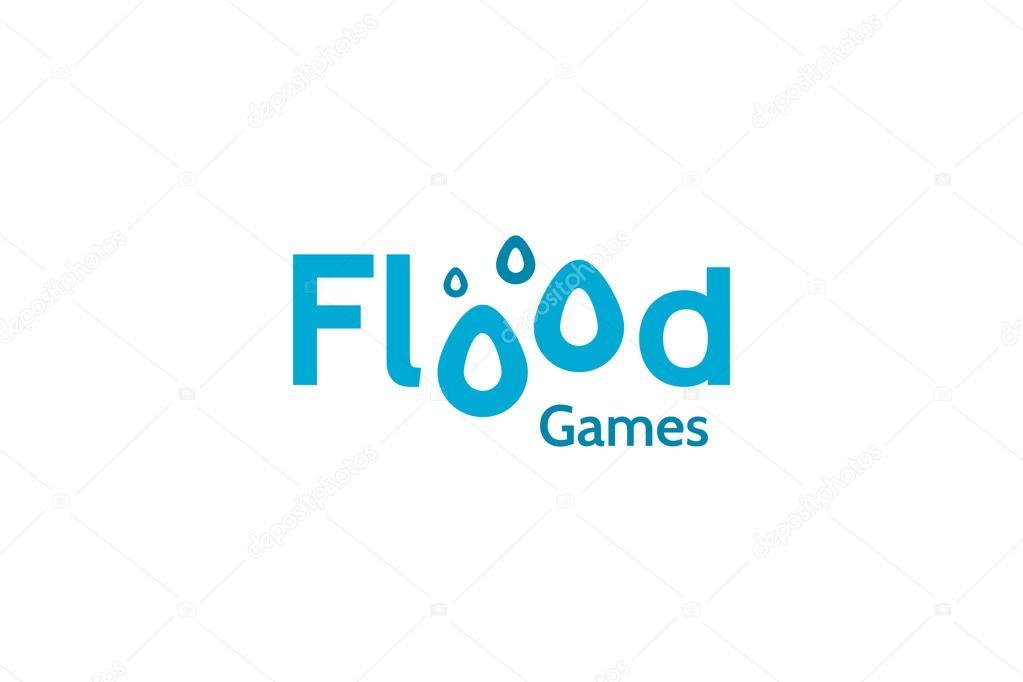 Inundaciones Juegos Logo Vector De Stock C Amerenko 79376622
