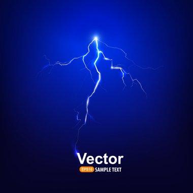 Bright abstract  lightning