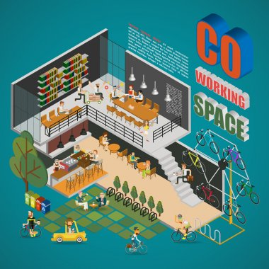 Co-working Space Infographics