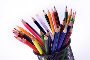 Multi Colored color pencils